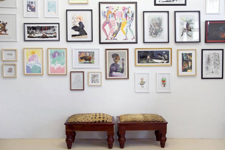 Ahem! Art Collective interior