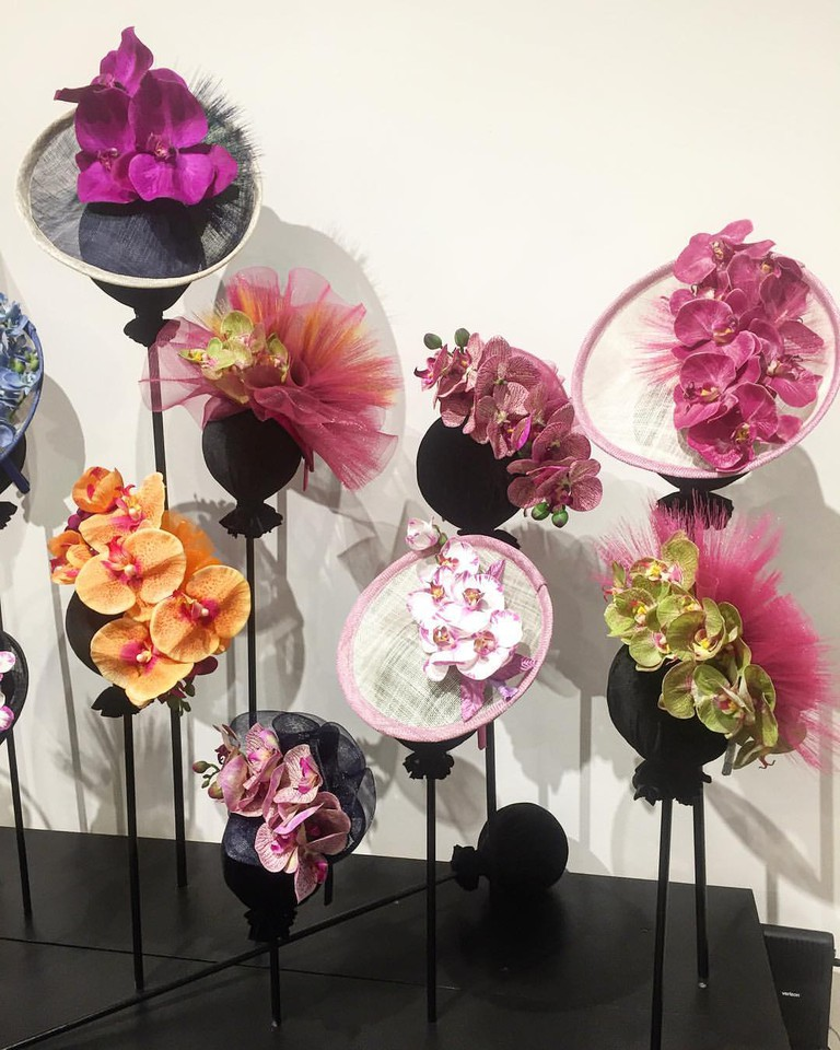 Courtesy of Marie Galvin Fine Millinery