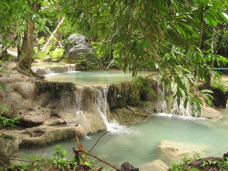Erawan Waterfalls — 7 Steps to Heaven