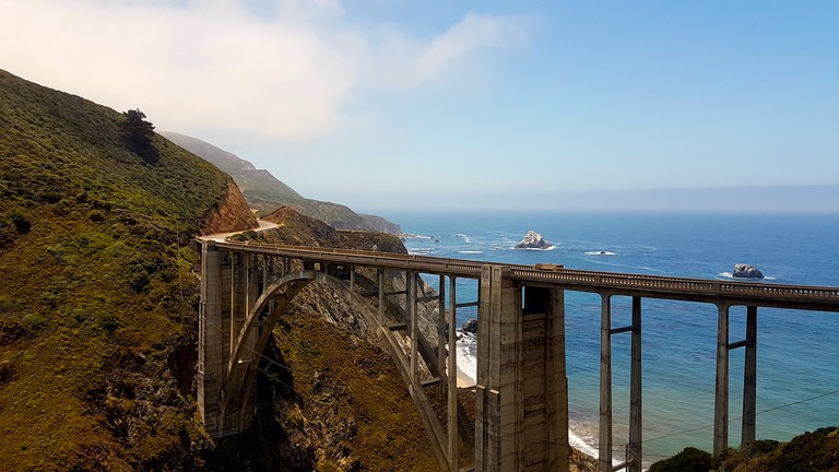 The Bixby Bridge as seen in Big Little Lies on HBO