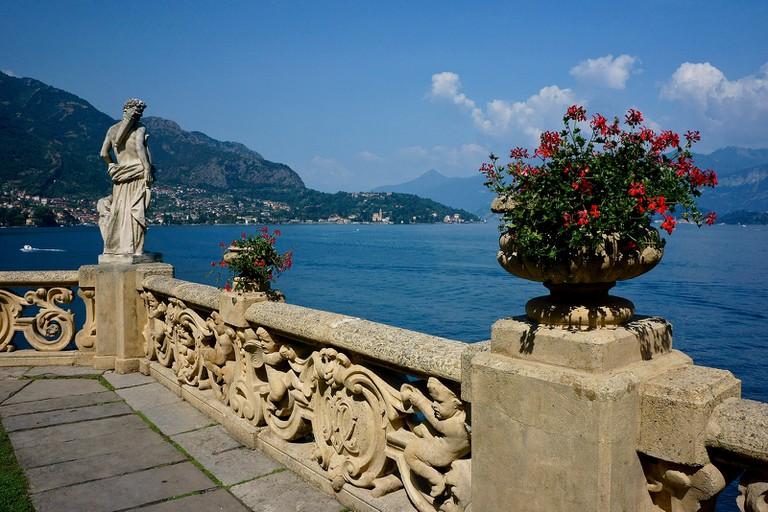 The picturesque town of Menaggio overlooks Lake Como   © Franco Vannini/Flickr