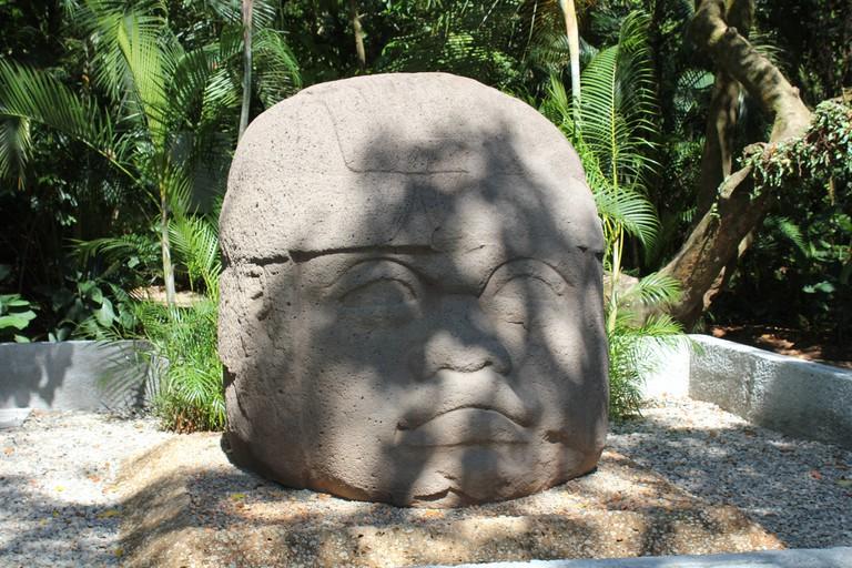 Olmec Head at Parque La Venta, Villahermosa
