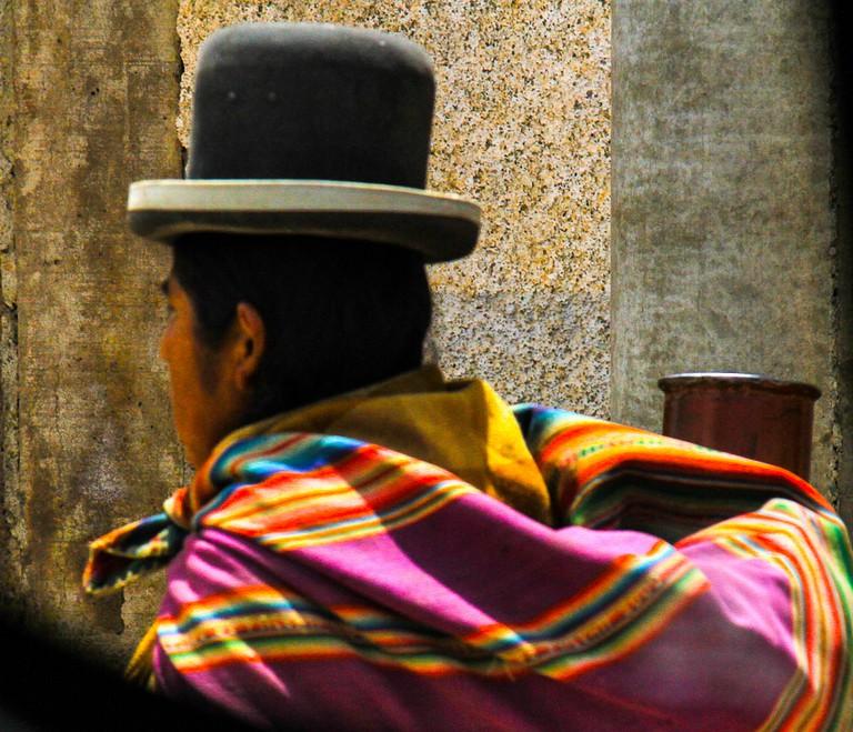 Indigenous woman known as a Cholita