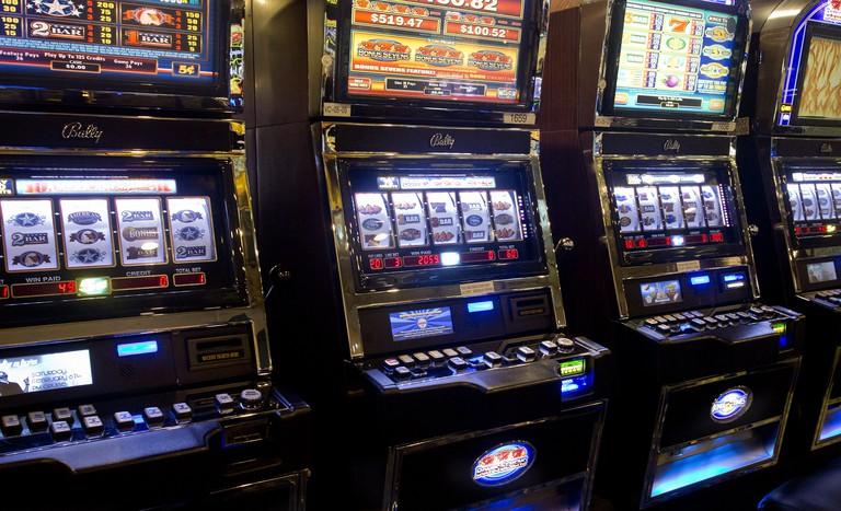 The odds are not in your favor at the airport slot machines