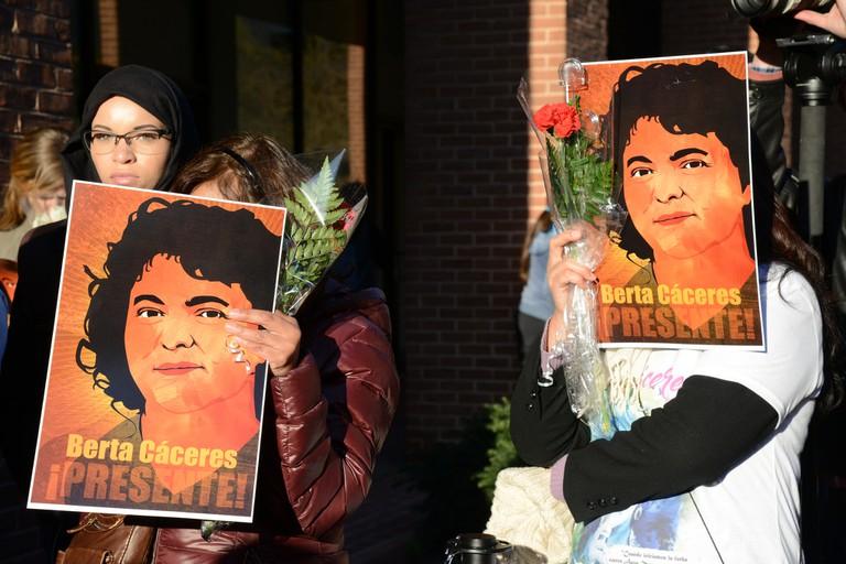 Berta Cáceres posters