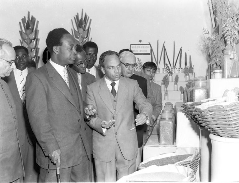 Kwame Nkrumah in New Delhi