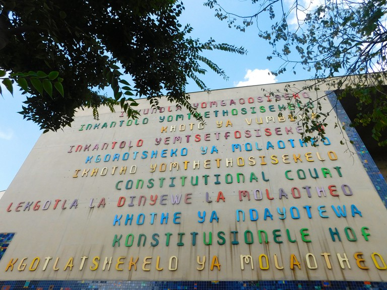 All official languages represented outside South Africa's Constitutional Court