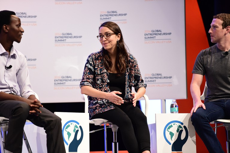 Mariana Costa Checa at the Global Entrepreneurship Summit 2016