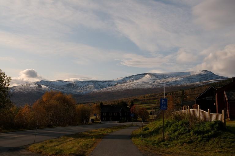 Oppdal mountain