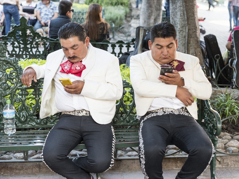 Modern-day mariachis in SMA