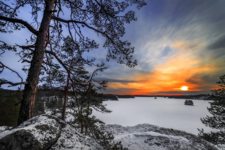 Lake Saimaa in winter / Timo Seppäläinen / Flickr