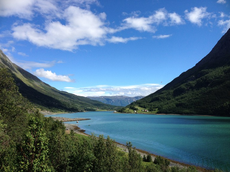 Fjord, Lyngen