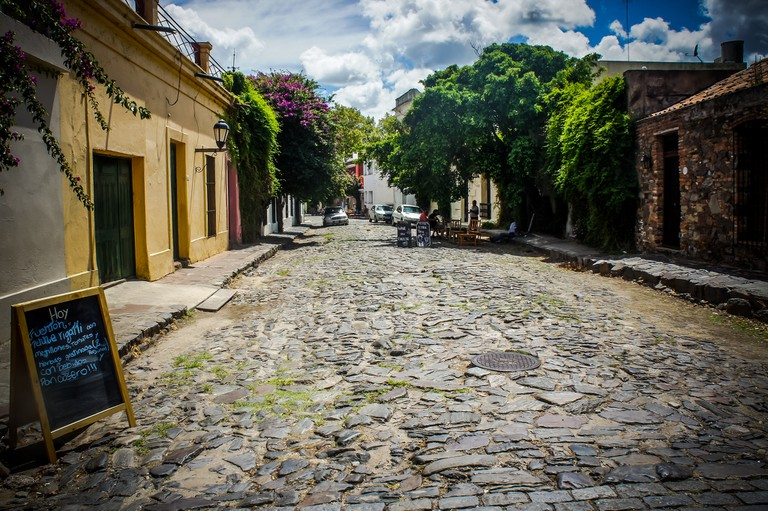Streets of Colonia, Uruguay