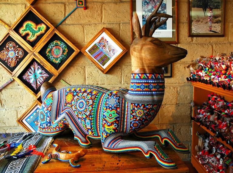Beaded deer in Puerto Vallarta