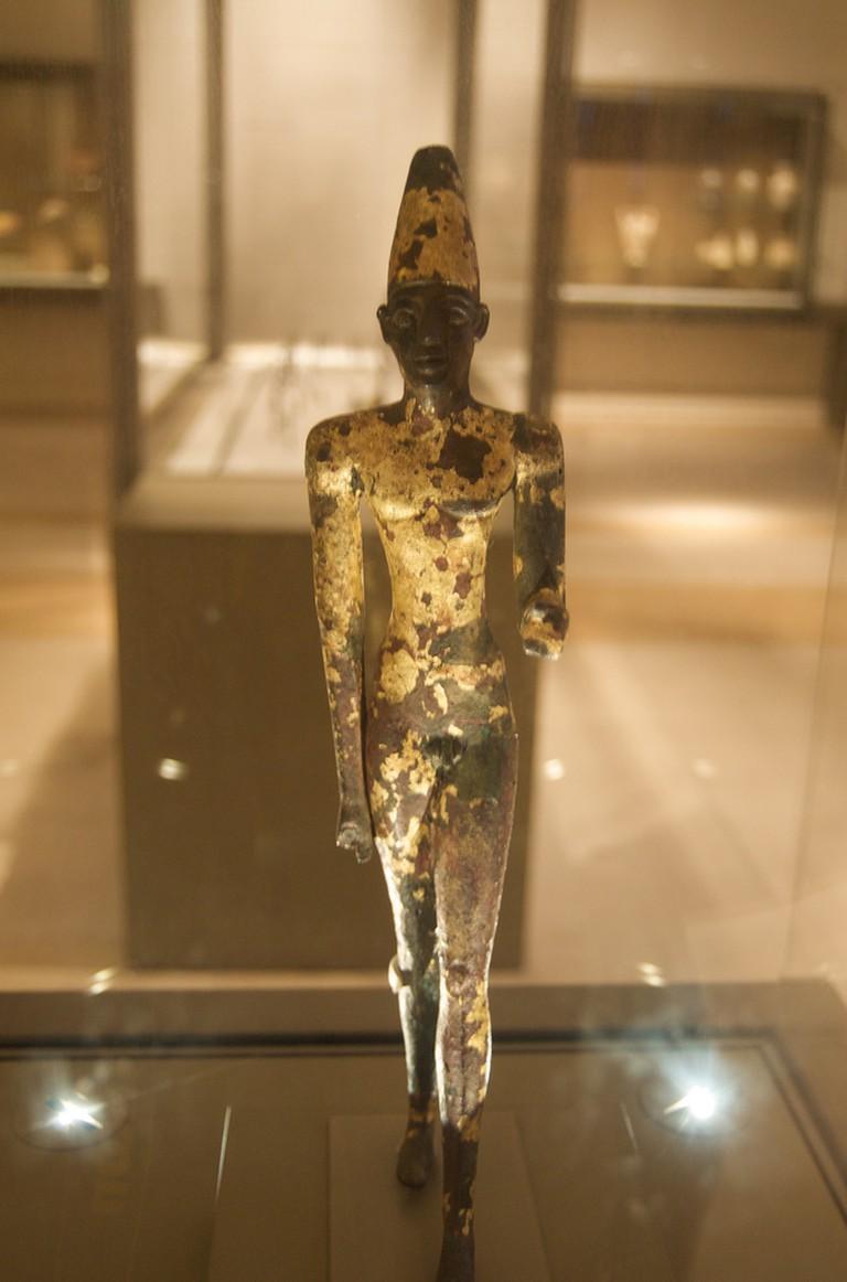 Phoenician statuette