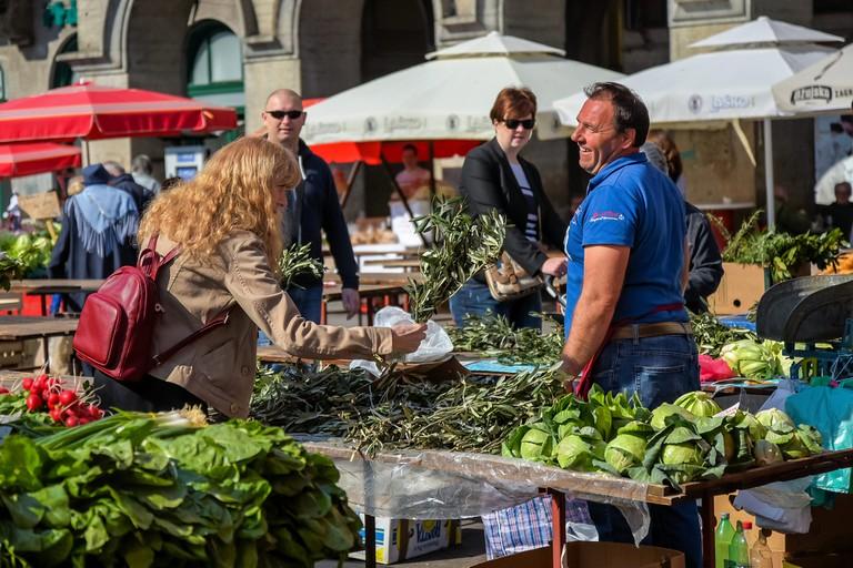Zagreb Dolac market | © Jorge Franganillo/Flickr