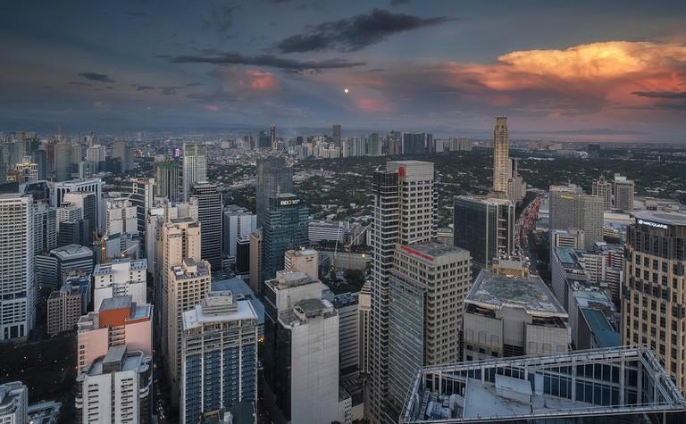 Skyline in Manila