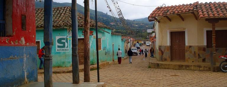 Samaipata back streets