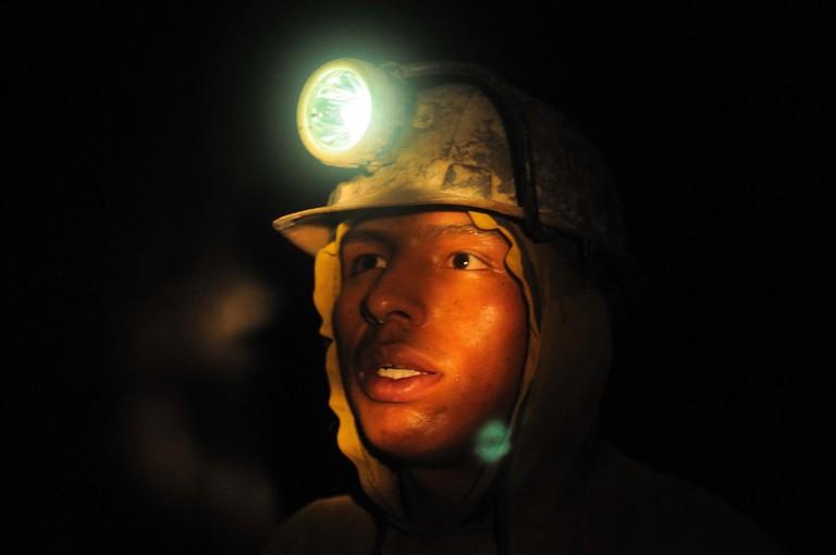 Young Potosi miner