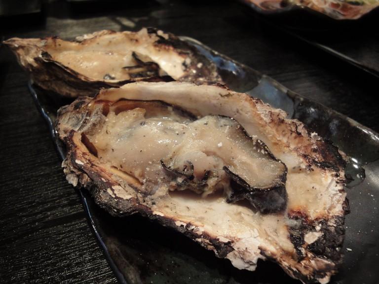 Hiroshima oysters