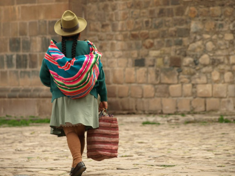 Peru Travel: Crossing the Plaza