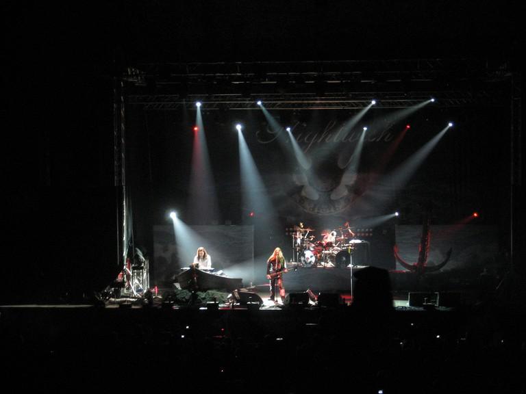 Nightwish performing at Olavinlinna in 2009 / Ville-Pekka Vainio / Flickr