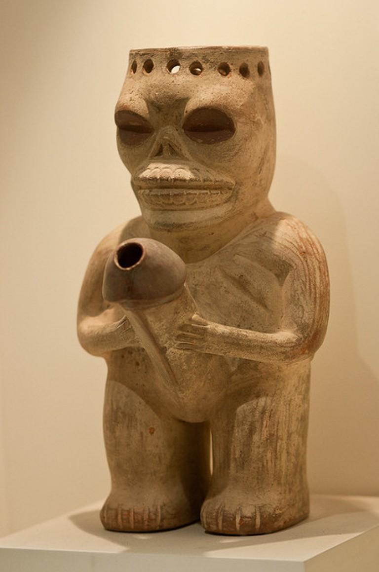 Clay art at Museo Larco I