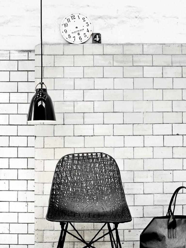 Caravaggio BlackBlack pendant P1 by Cecilie Manz