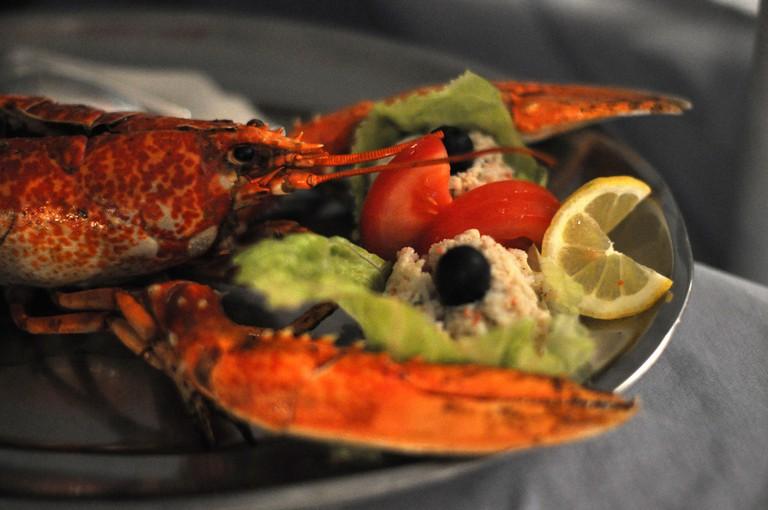 Seafood in Croatia | © cyclonebill/Flickr