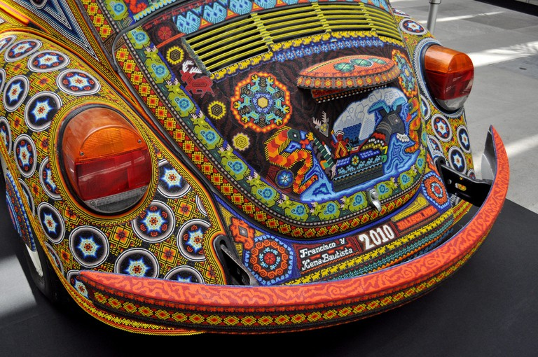 Huichol beaded Beetle