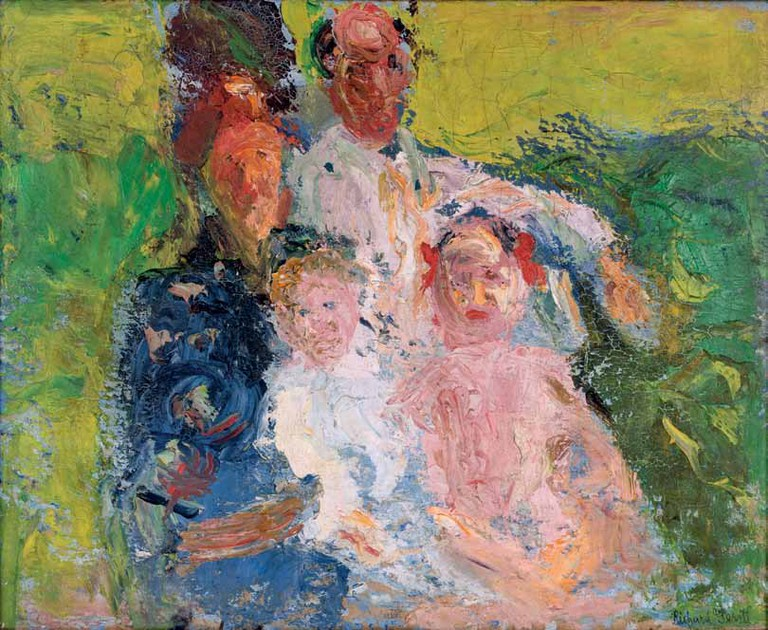 Richard Gerstl (1883-1908) The Schönberg Family, late July 1908 | Museum moderner Kunst Stiftung Ludwig Wien, Gift of the Kamm Family, Zug 1969
