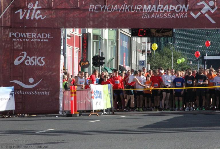 Runners   © Helgi Halldorsson/Flickr