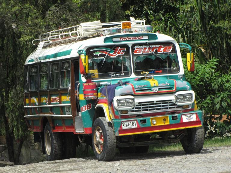 Colombian Chiva Bus