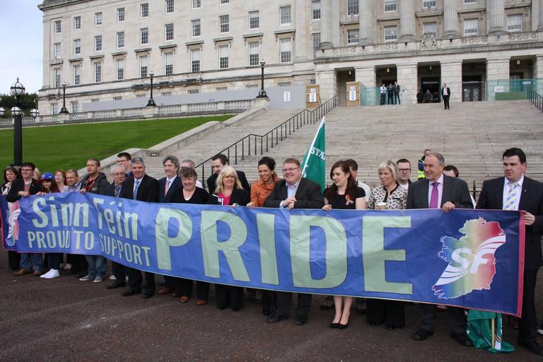 Sinn Féin MLAs calling for marriage equality