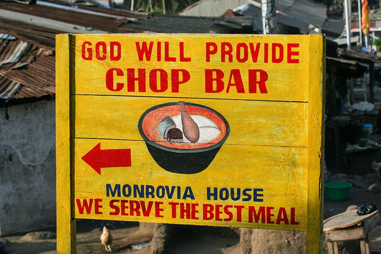 Chop Bar, Winneba
