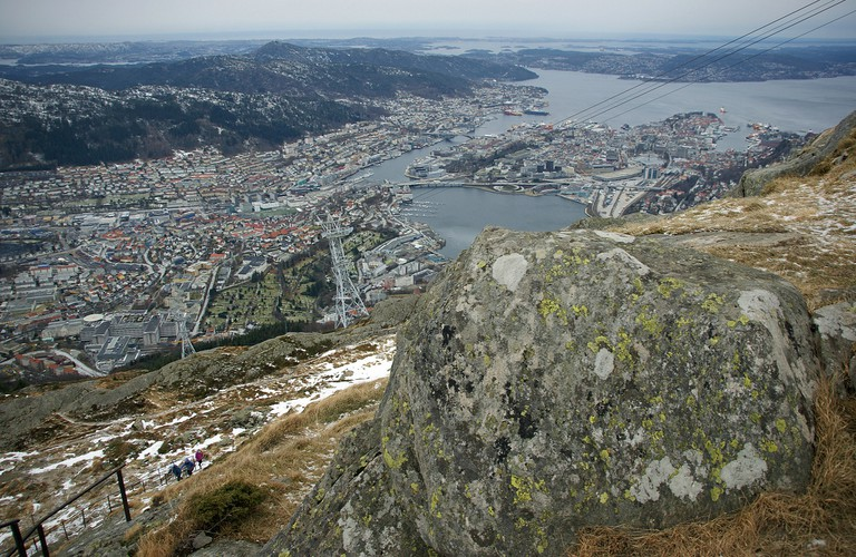 View from Mount Ulriken, Bergen