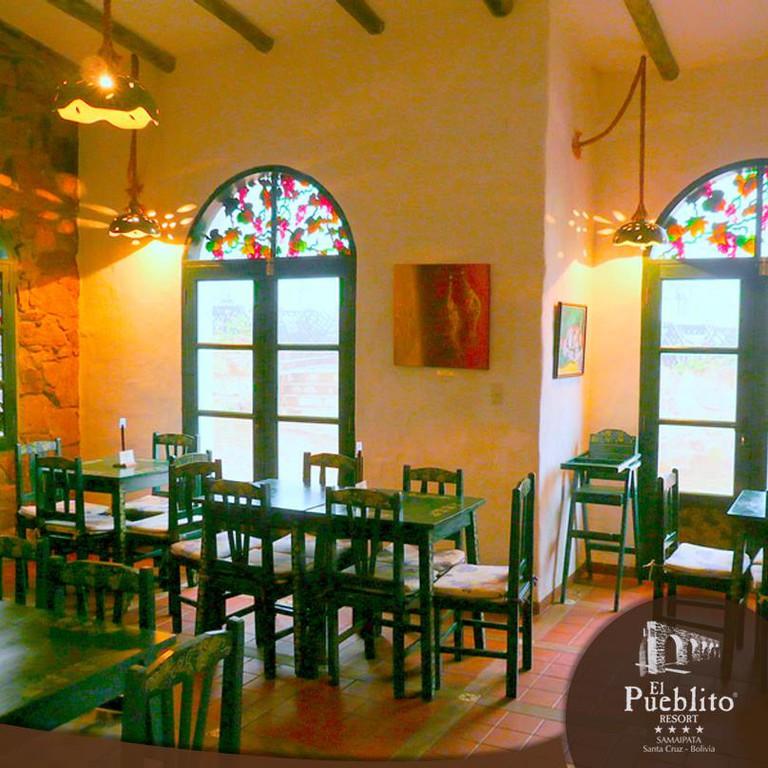 The restaurant in El Pueblito