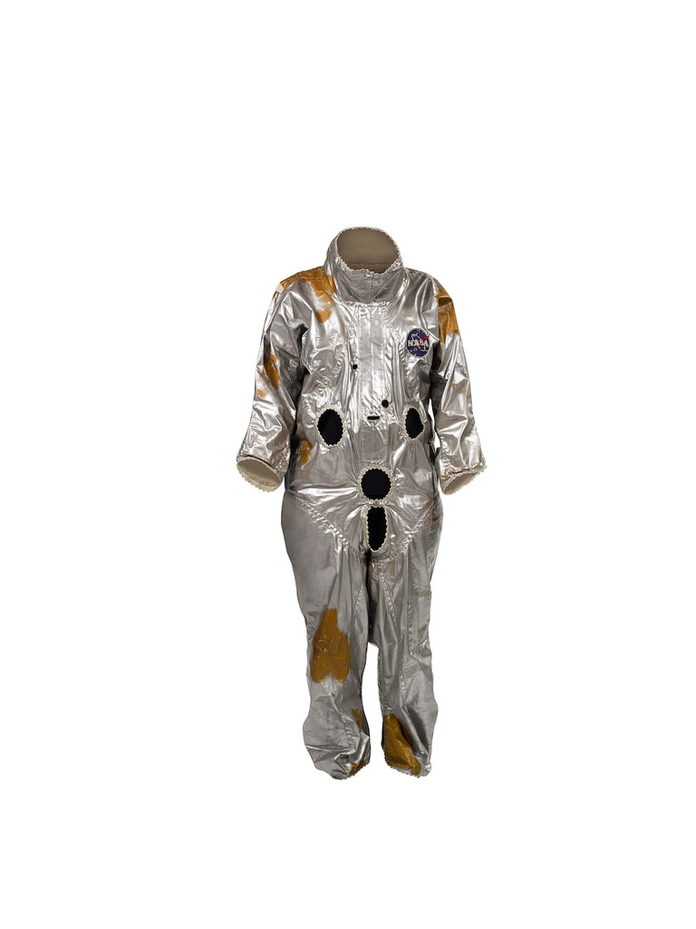 9759 Gemini G1C Spacesuit Thermal Coverlayer (lot 64) | © Sotheby's