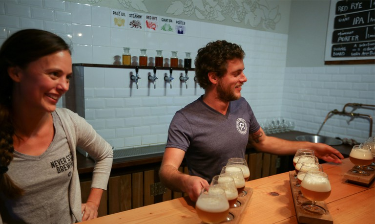 Aegir Project Brewery is a great place to discover a new favourite local beer