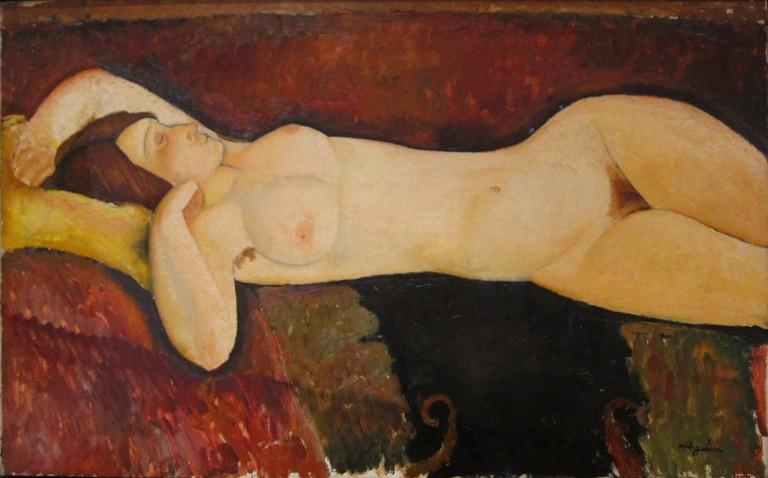 Le Grand Nu by Modigliani