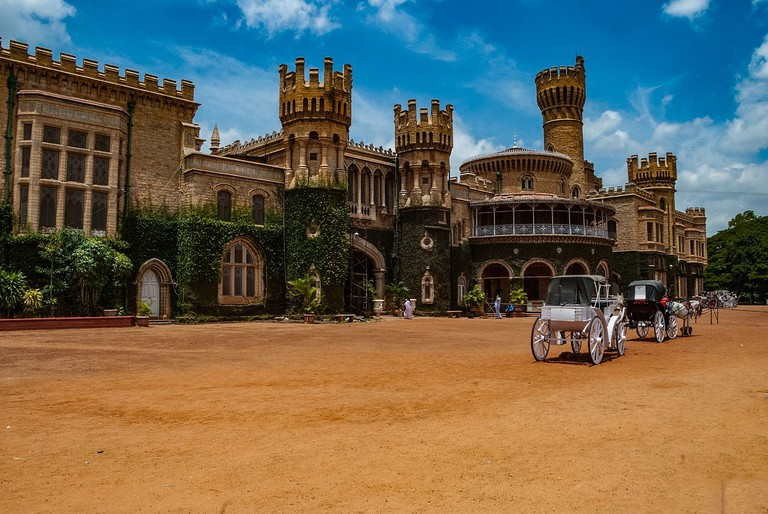 Bangalore Palace stands out with its Tudor architecture