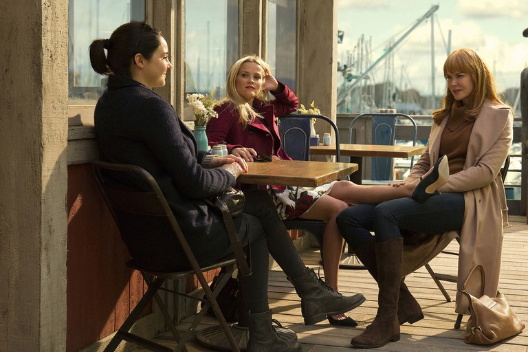 Big Little Lies Cafe Scenes
