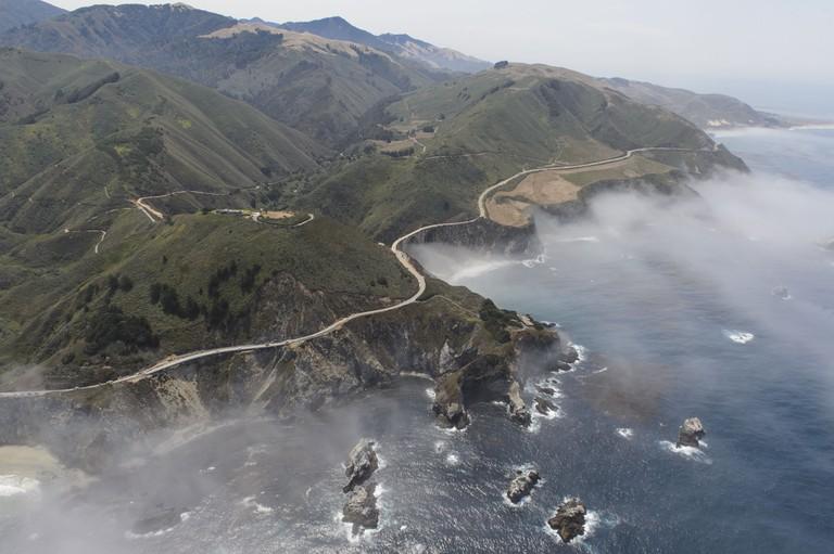 Big Sur Coastline and Bixby Bridge