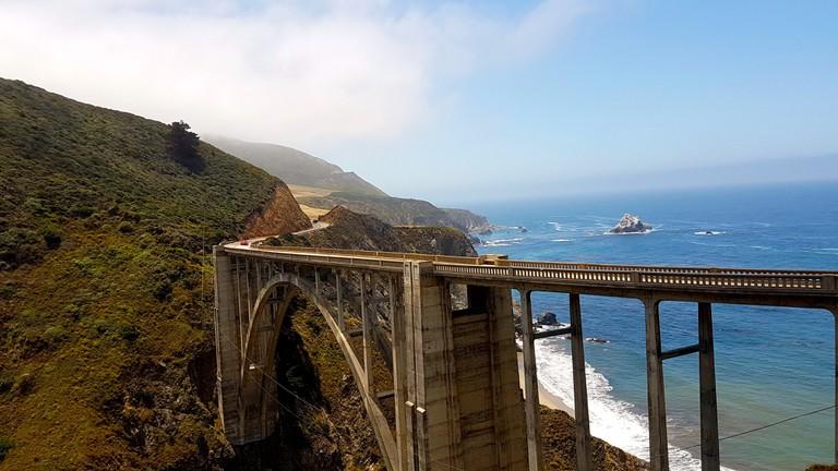 Bixby Bridge in Monterey as seen in Big Little Lies