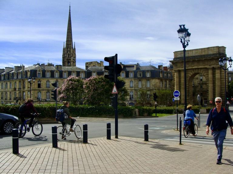 Bordeaux's Porte de Bourgogne