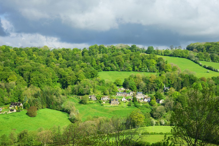 Slad village | © PJ photography/Shutterstock