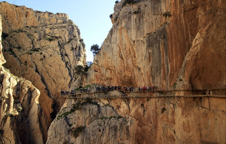 The Caminito del Rey, one of the world's deadliest footpaths