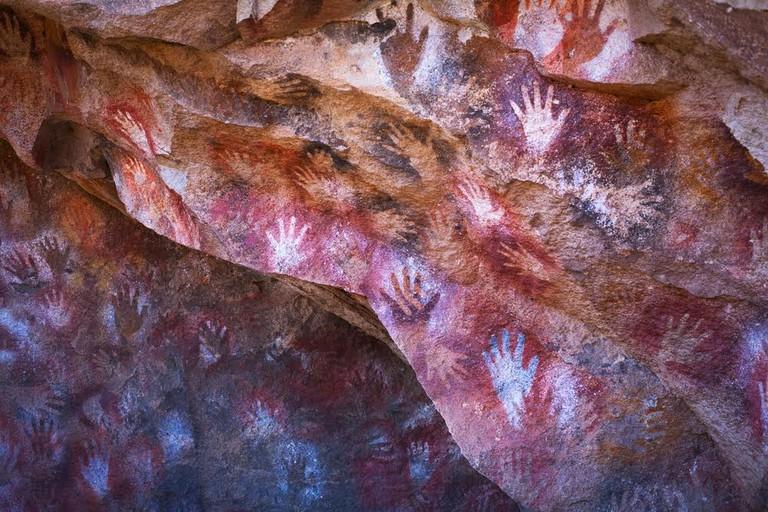 The Cueva de las Manos in Patagonia