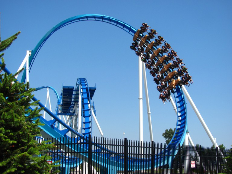 GateKeeper ride at Cedar Point Amusement Park | © Jeremy Thompson / Flickr