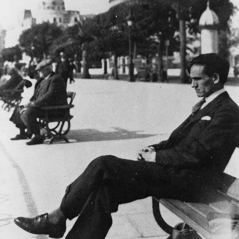 Cesar Vallejo in Nice, France, 1929 I